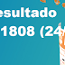 Resultado LotoMania - Concurso 1808 (24/10/17)