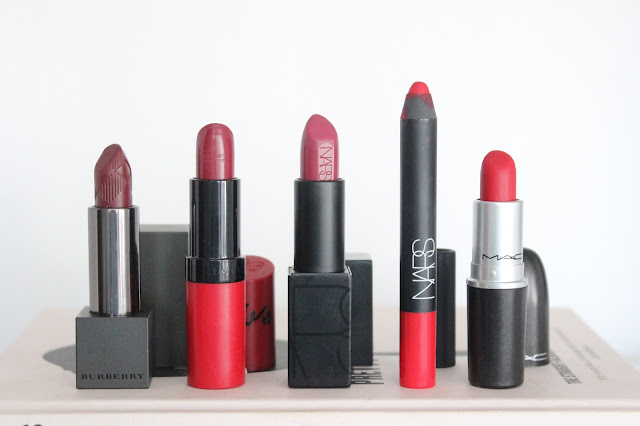 Top Five Red Lipsticks