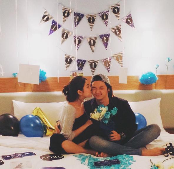 Foto Ciuman Hot Kesha Ratuliu dengan Pacar