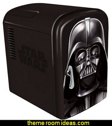 Star Wars Darth Vader Mini Fridge Star Wars party decorations  - Star Wars party decor - star wars party decorating - Star Wars party supplies -  Star Wars party props - star wars life size standees - star wars costumes - outer space party decorations - star wars props - galaxy table decorating props