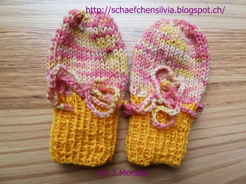 Schäfchen Silvia Strickanleitung Für Frühchen Und Babyhandschuhe