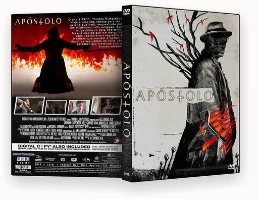 CAPA DVD – APOSTOLO DVDR AUTORADO – ISO