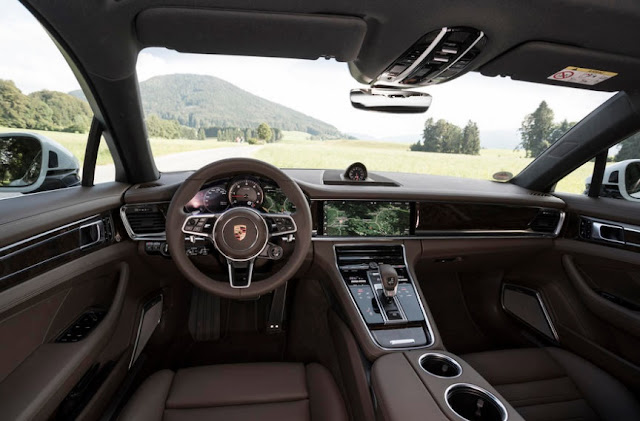 2016 Porsche Panamera 4S Diesel REVIEWS INTERIOR