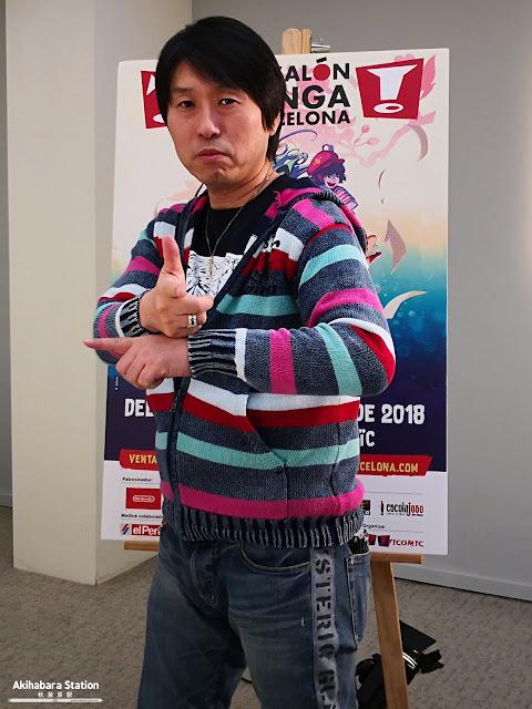 """Entrevista a Masaki Sato, animador de """"Dragon Ball"""" en el XXIV Salón del Manga de Barcelona"""