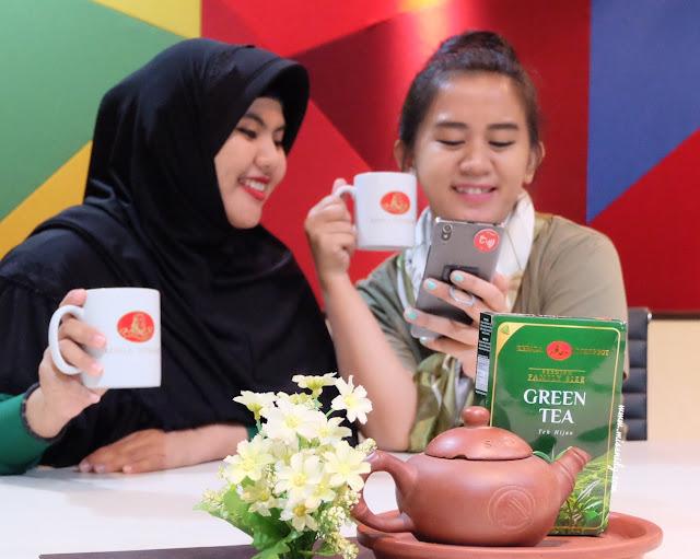 manfaat kebiasaan minum green tea