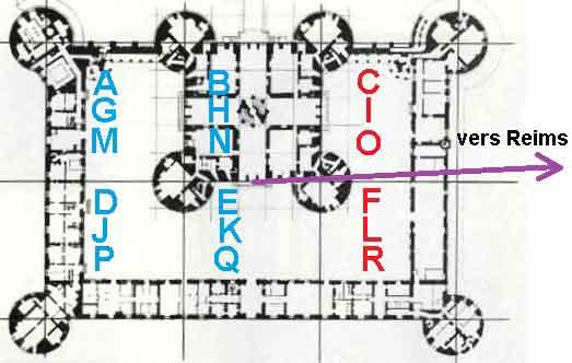 Le secret du plan du château de Chambord.