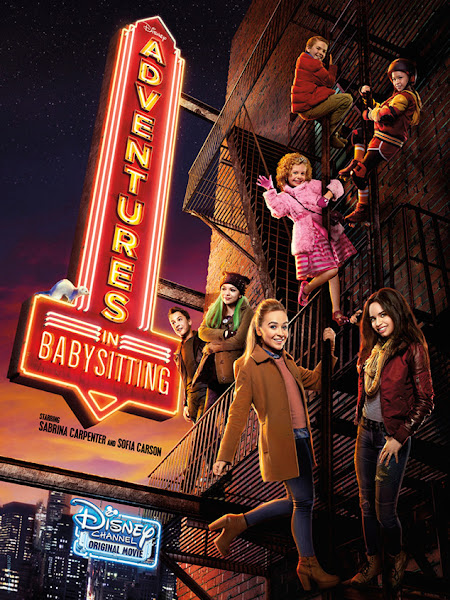 Poster Of Adventures In Babysitting 2016 720p HDRip Full Movie Download