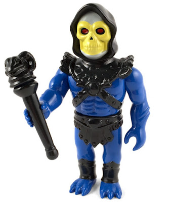 "Masters of the Universe ""Leo"" Skeletor Soft Vinyl Figure by Super7 x Gargamel"