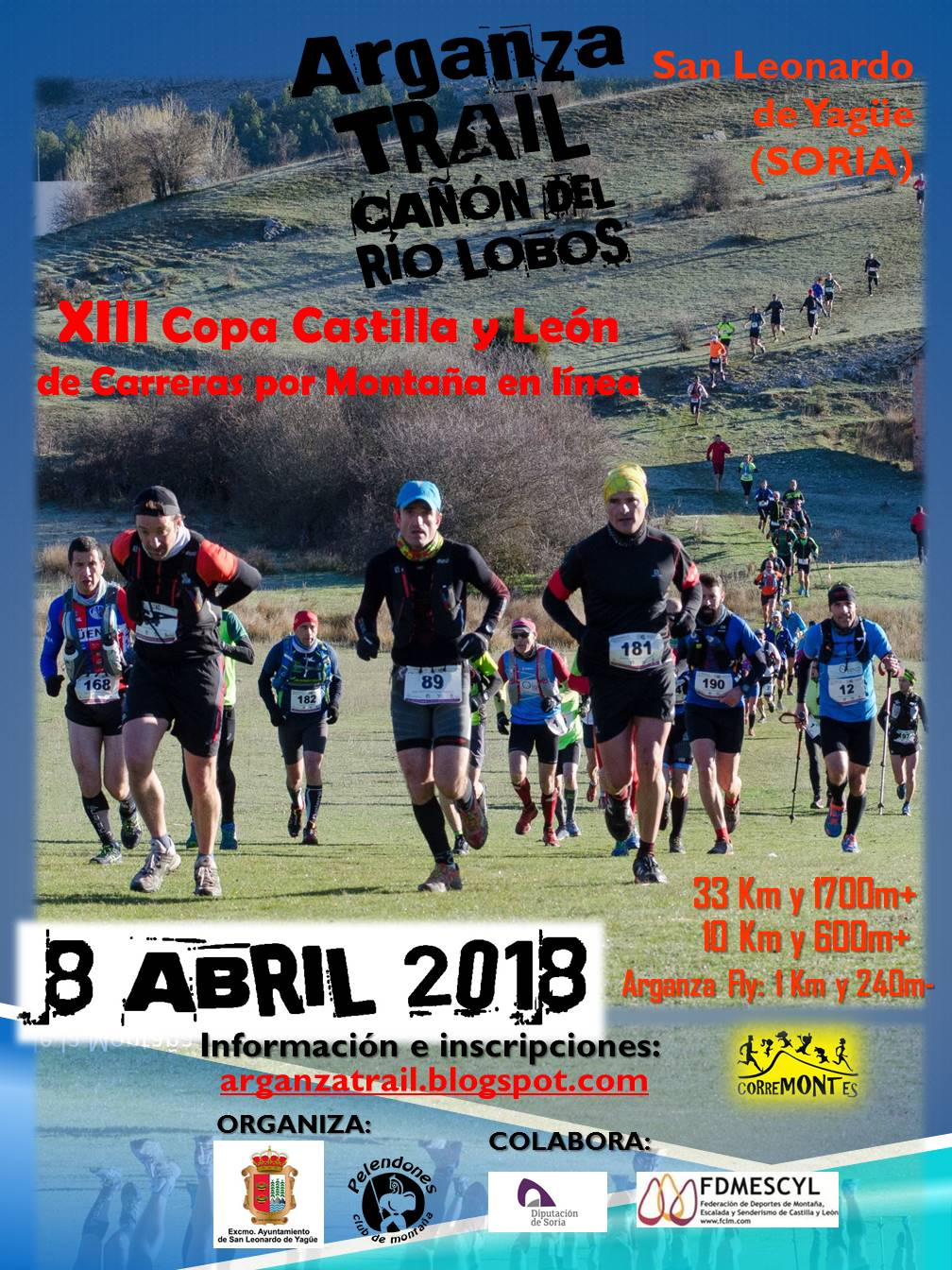 Cartel VII Arganza Trail