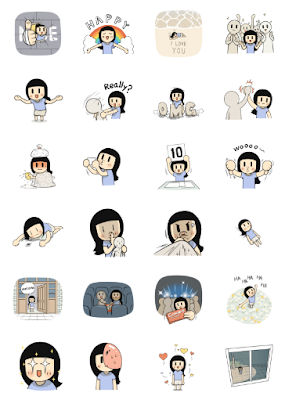 Line Sticker Animated Smile Brush: Taiwan Edition VPN