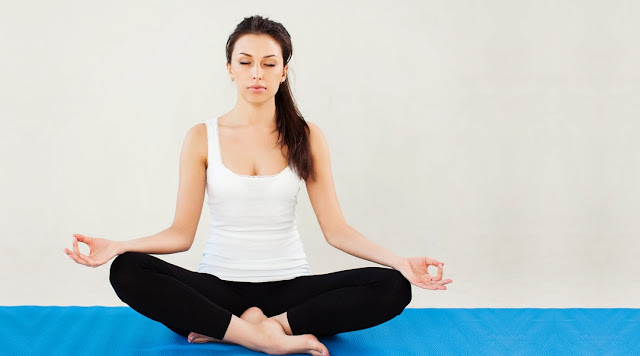 Sukhasana Yoga pose and Benefits