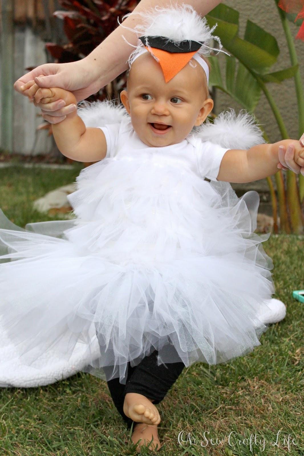 Diy Baby Swan Costume Crafty Mom Blog