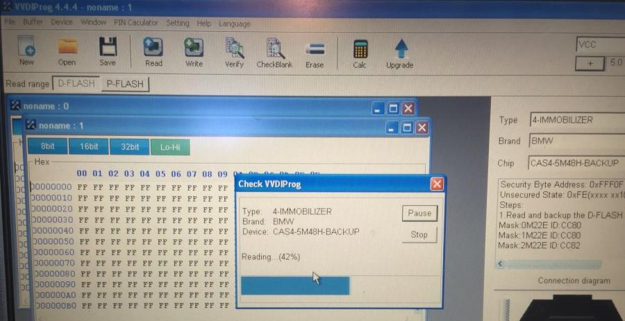 Unlock BMW CAS4 5M48H via VVDI Prog Programmer | VVDIshop com