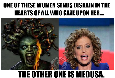Image result for debbie wasserman schultz cartoons