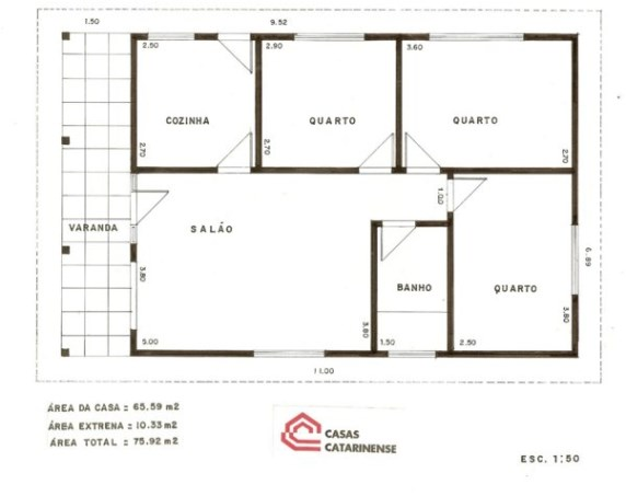 house plans with 85m2