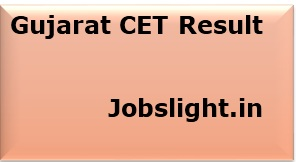 Gujarat CET Result