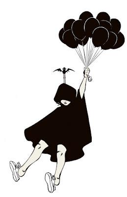 Deathko arrive en ballon(s).