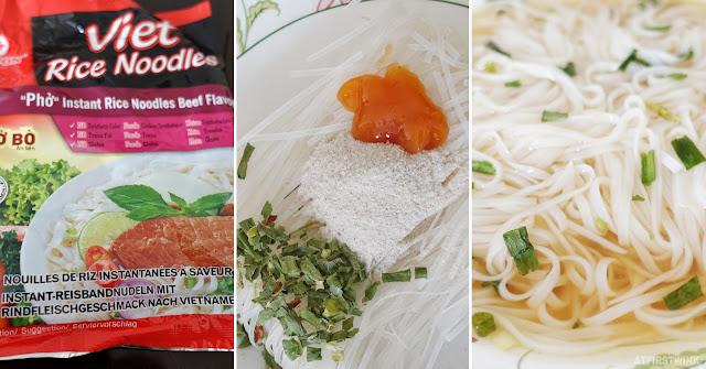 Vifon viet instant rice noodles beef flavor
