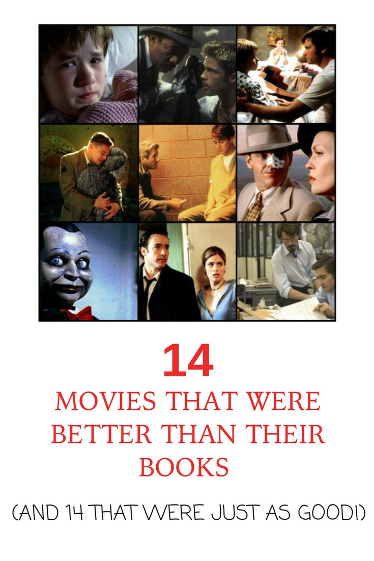 14 movies that were better than their books (and 14 that were just as good)  #Barathon