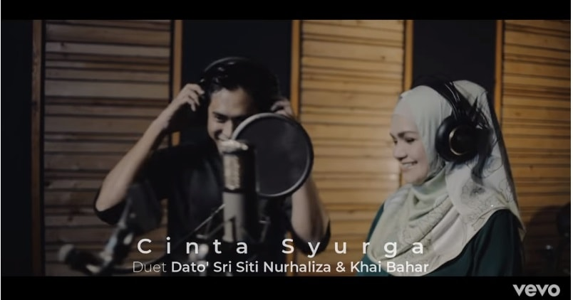 Lirik Lagu Cinta Syurga - Siti Nurhaliza, Khai Bahar