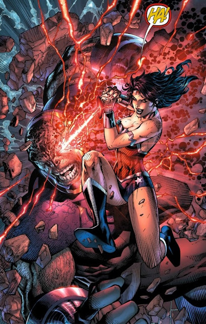 Wonder Woman Beaten Justice League Avengers and Ju...