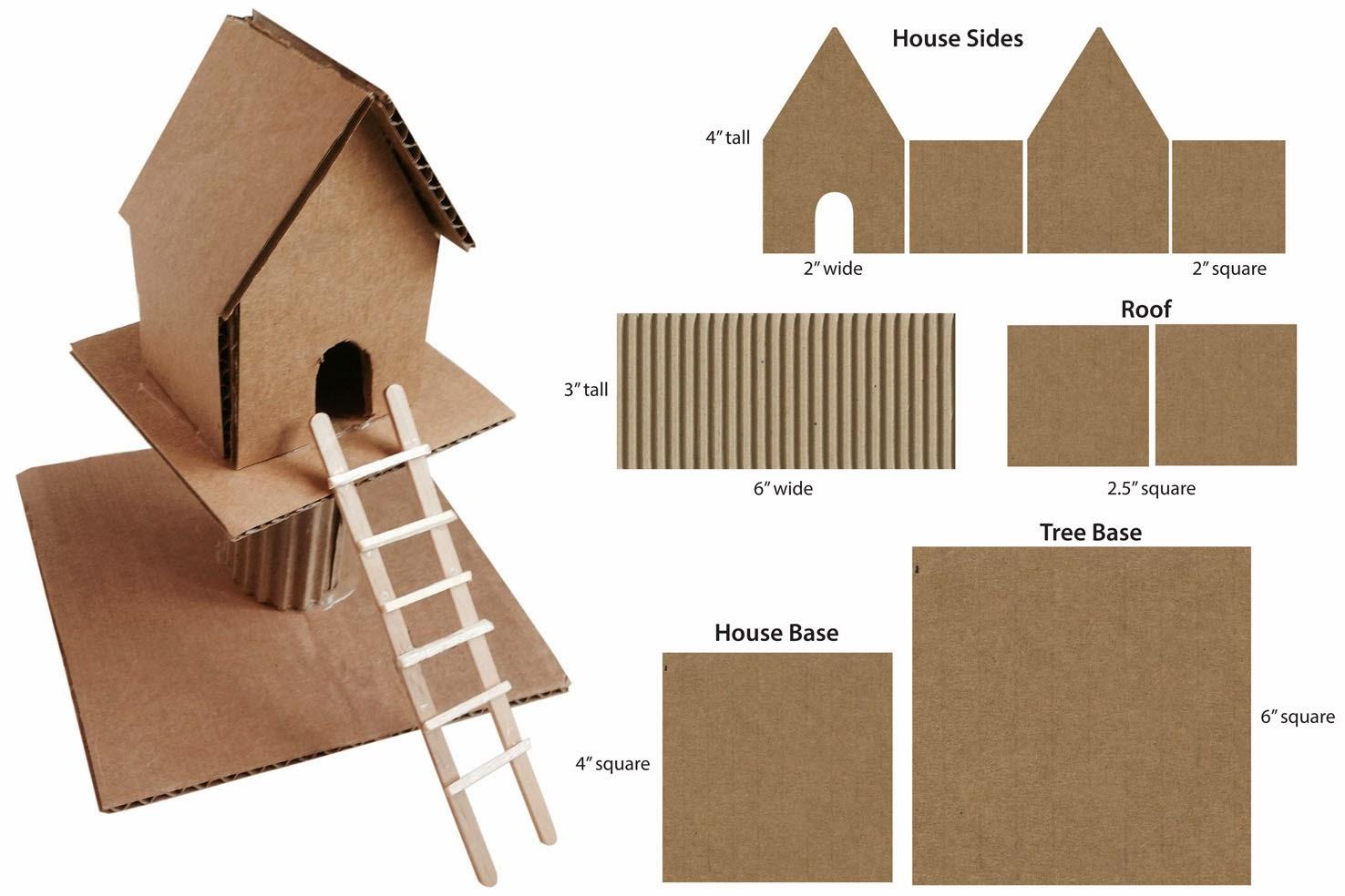 Cardboard Treehouse Art Projects For Kids Bloglovin