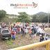 VÍDEO: Agricultores, comerciantes, populares, MST e MPA realizam manifestação na barragem e ETA da Embasa
