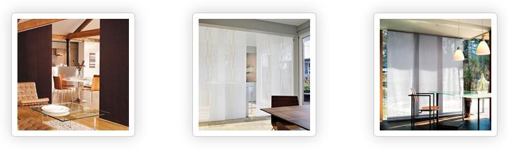 Японские панели (шторы)