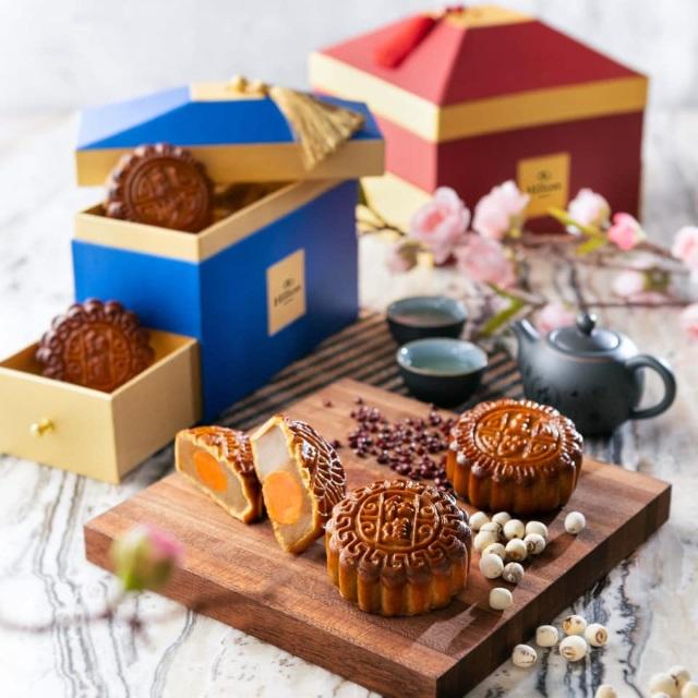 mooncakes by Hua Yuan Restaurant, Hilton Manila