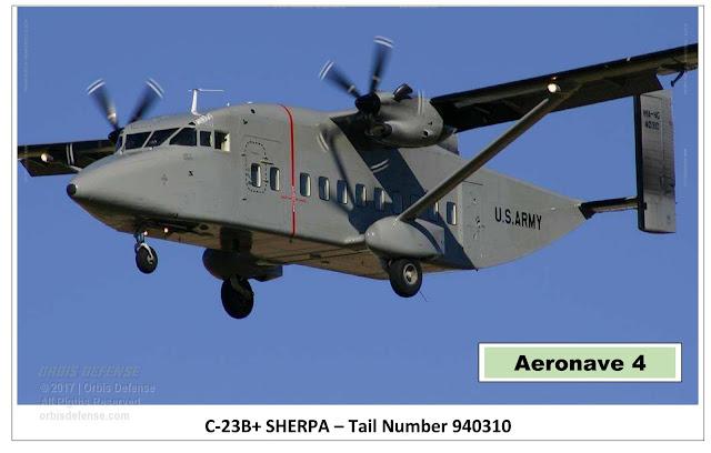 Resultado de imagen para Brasil + cuatro aviones C-23B + Sherpa