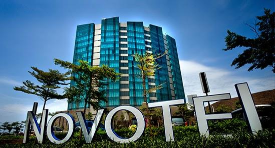 Kamar hotel di Novotel