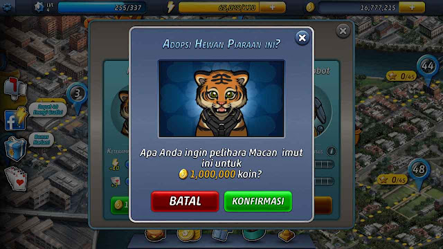 cheat criminal case coin tak terbatas