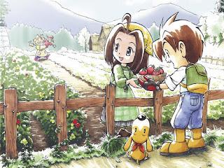 Cara Mendapatkan Hadiah Dari Penduduk Harvest Moon AWL