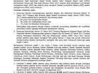 Pengumuman Hasil SKD bagi Peserta dengan Kualifikasi Pendidikan Dokter Spesialis, Dokter dan Sarjana Seleksi CPNS Kemenkumham TA 2017