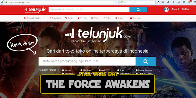 telunjuk Indonesia Next Smart Shopasista