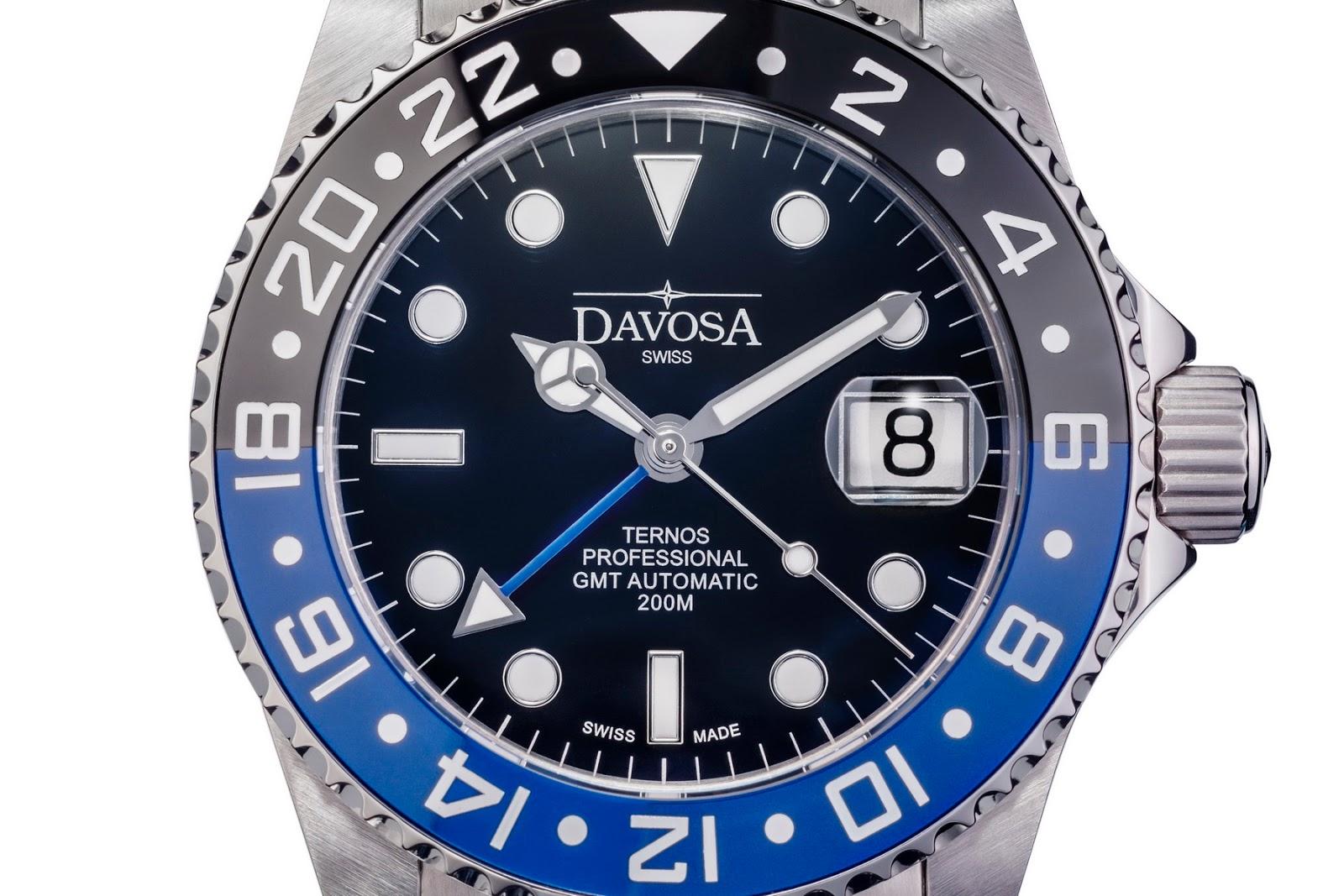 davosa gmt  OceanicTime: DAVOSA Ternos Professional TT GMT