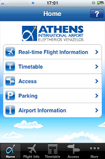 ATH Airport app for iPhone