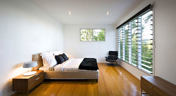 Photo of modern minimalist bedroom