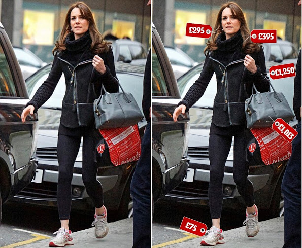 The Duchess Of Cambridge Was Photographed While Shopping In Chelsea