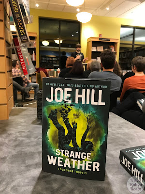 Joe Hill Strange Weather book launch