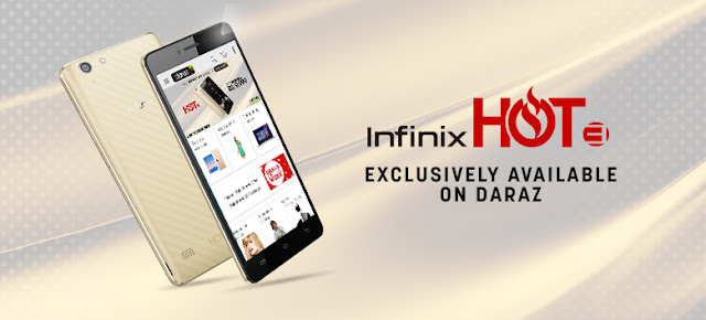 Infinix redefines 'hot' by launching the Infinix Hot 3 on Daraz.pk