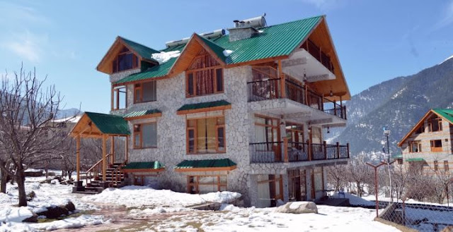 the white stone manali cottage best price