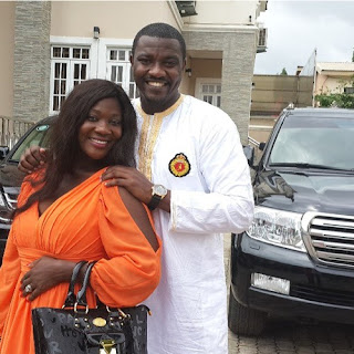 john dumelo visits mercy johnson