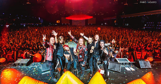 HELLOWEEN - New Live Release + New Studio Album + More Live Shows