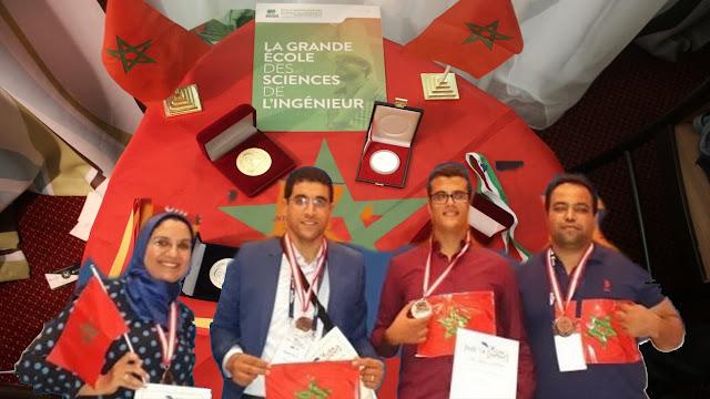 المغرب يحرز ذهبيتين وفضية بمعرض أرخميدس الدولي للاختراعات والابتكارات التكنولوجية