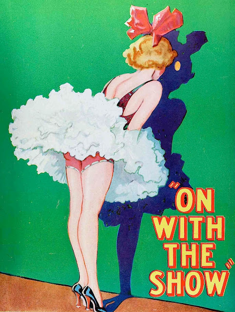 1929 girlie peephole cartoon