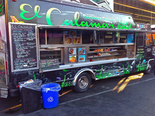 El Calamar Food Truck Menu