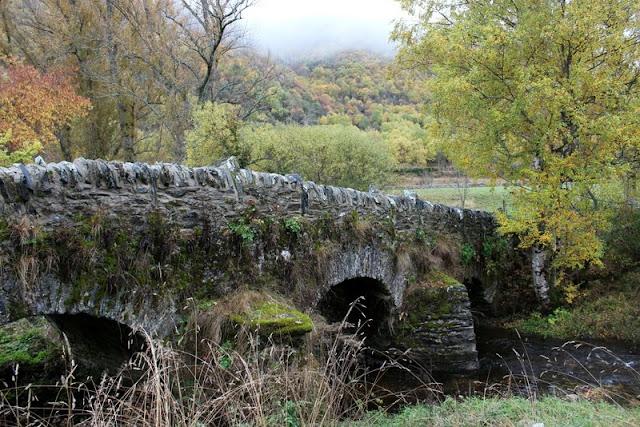 Puente romano de Murias de Paredes en Omaña, León