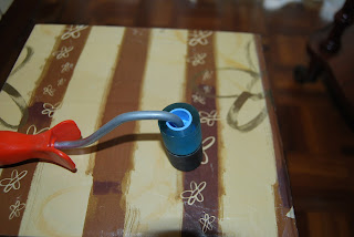 Como he hecho un rodillo de manualidades con material reciclado.