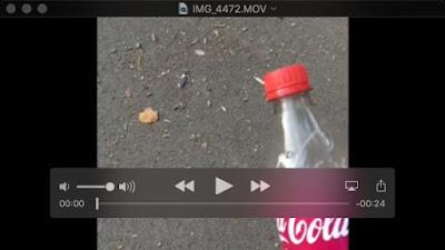 A Coke Bottle is About to Get Binned